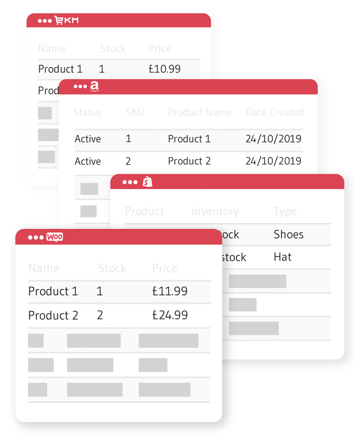 OnePatch removes the time taken to log into each sales channel and allows you to manage your inventory from one place